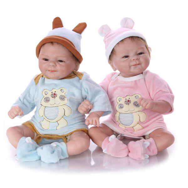 bébé reborn jumeaux jumelles pas cher