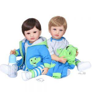 bébé reborn jumeaux en silicone