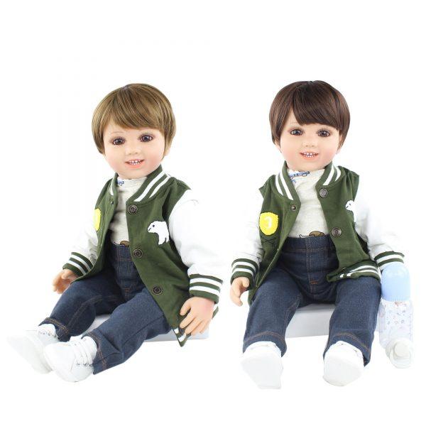 bébé reborn jumeaux 60 cm