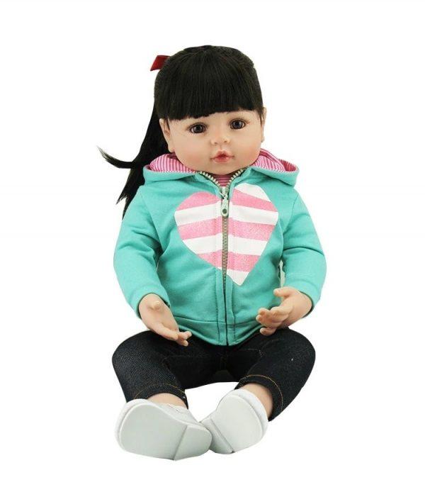 bébé reborn en silicone fille lina