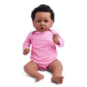 bébé reborn fille métisse naya