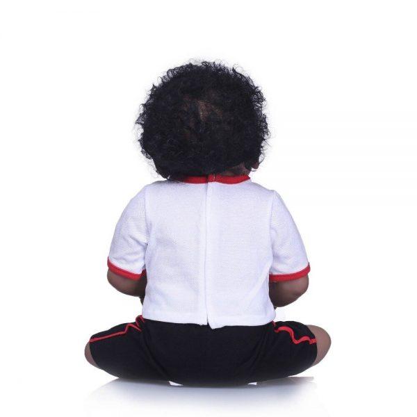 bébé reborn garçon noir yanis