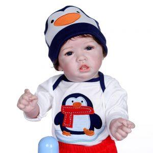 bébé reborn garçon réaliste ethan