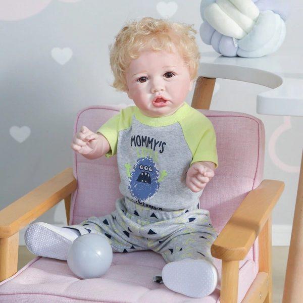 bébé reborn garçon en silicone lucas