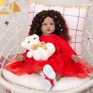bébé reborn métisse à adopter Elena