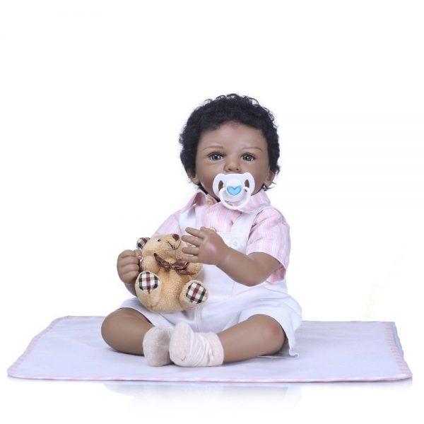bébé reborn métisse aaron