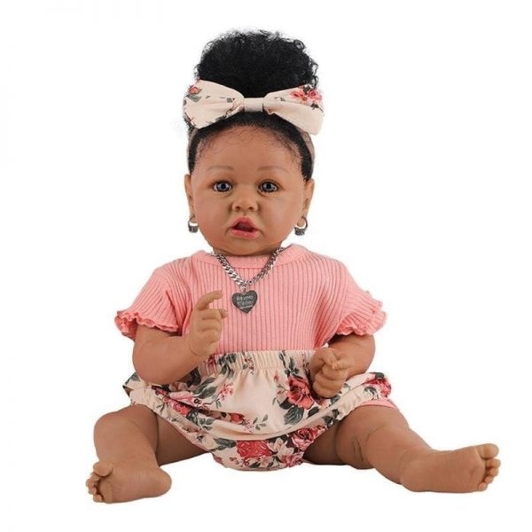 bébé reborn métisse fille louna