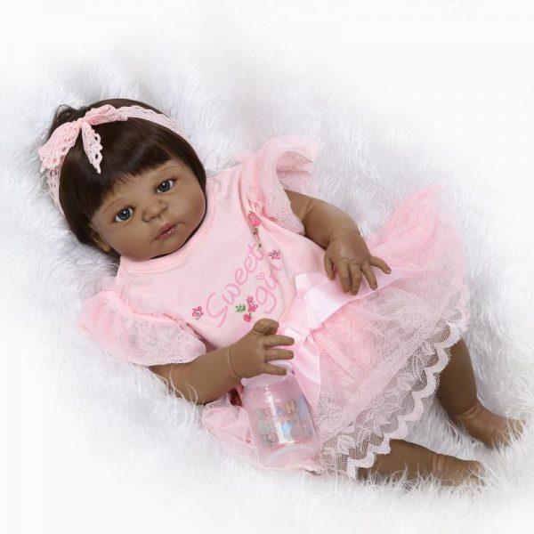 bébé reborn noir ines