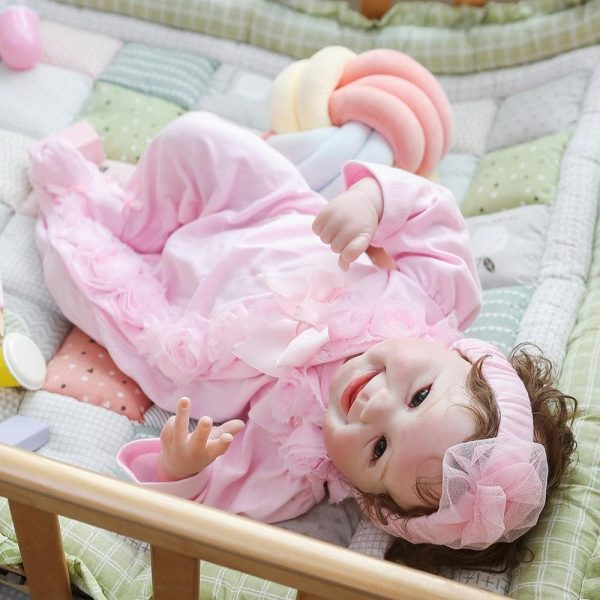fille bébé reborn réaliste alice