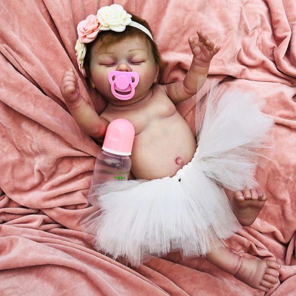 bébé reborn fille en silicone giulia