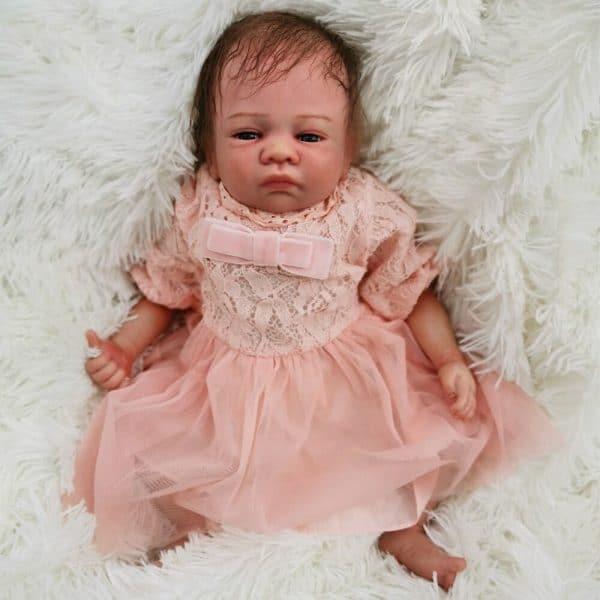 bébé reborn fille en silicone lou