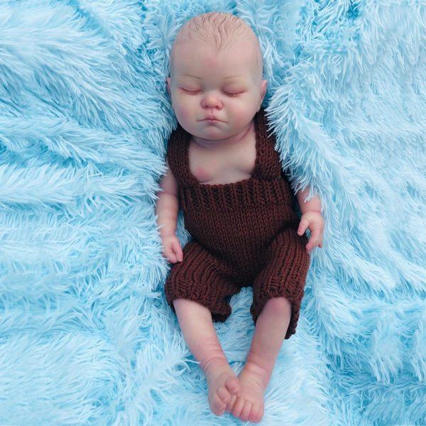 bébé reborn fille en silicone lucie