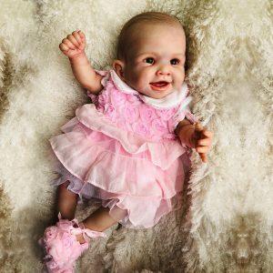 bébé reborn fille en silicone Maïssa