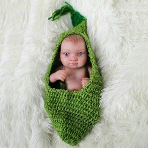 bébé reborn fille en silicone manon