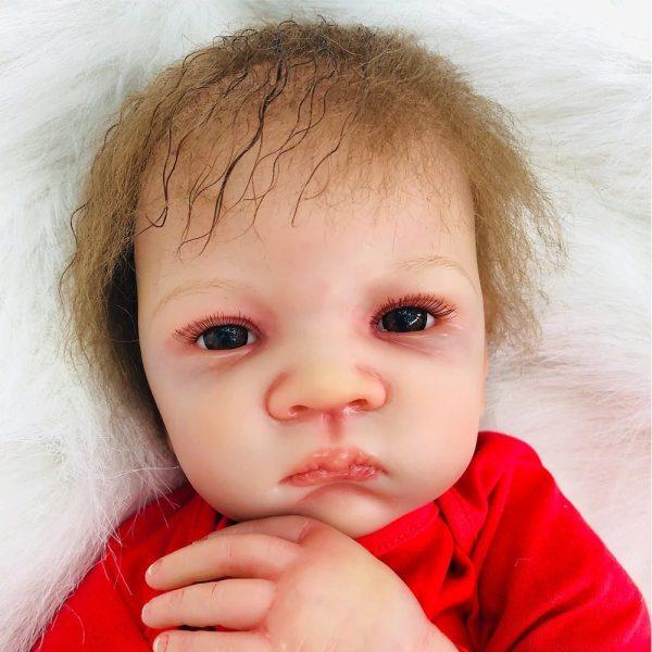 bébé reborn fille en silicone mathilda