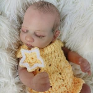 bébé reborn fille en silicone romy
