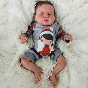 bébé reborn garçon en silicone édition limitée maxence