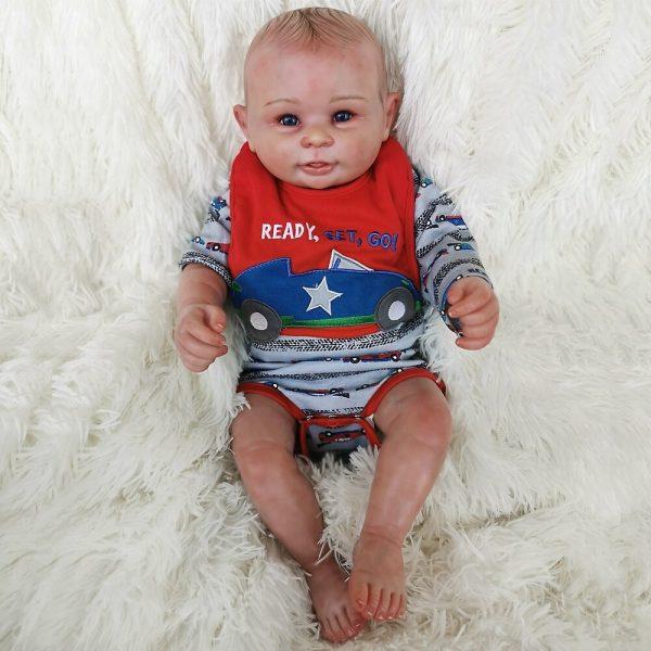 bébé reborn garçon en silicone ethan