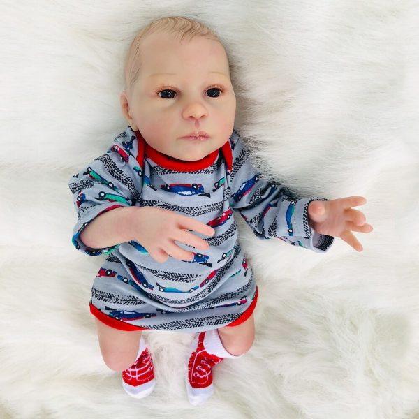 bébé reborn garçon en silicone lorenzo