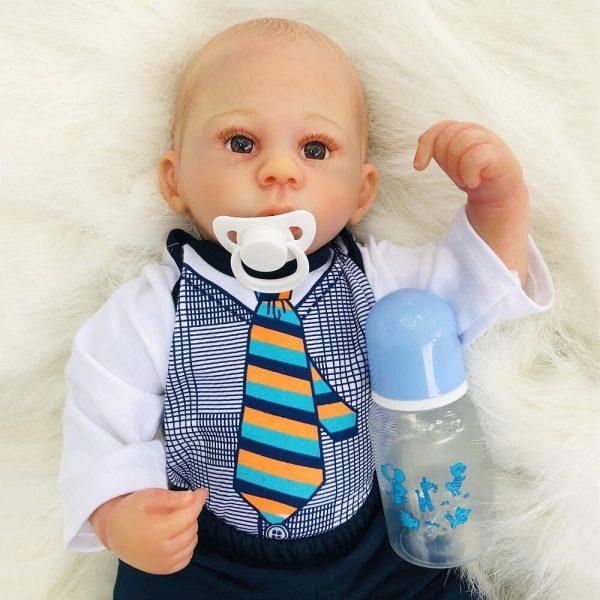 bébé reborn garçon en silicone swann