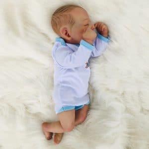 bébé reborn garçon en silicone Yaël