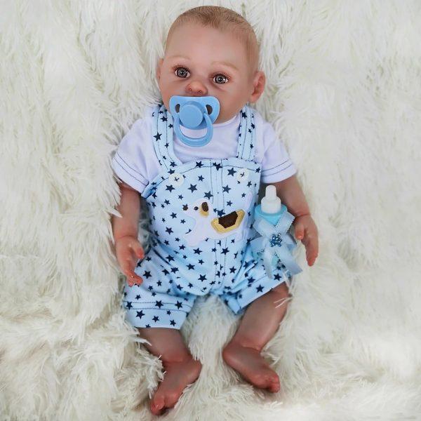 bébé reborn fille en silicone apolline