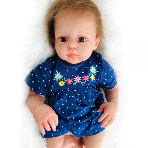 bébé reborn en silicone unisexe édition limitée sacha