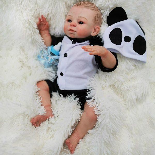 bébé reborn en silicone unisexe édition limitée camille