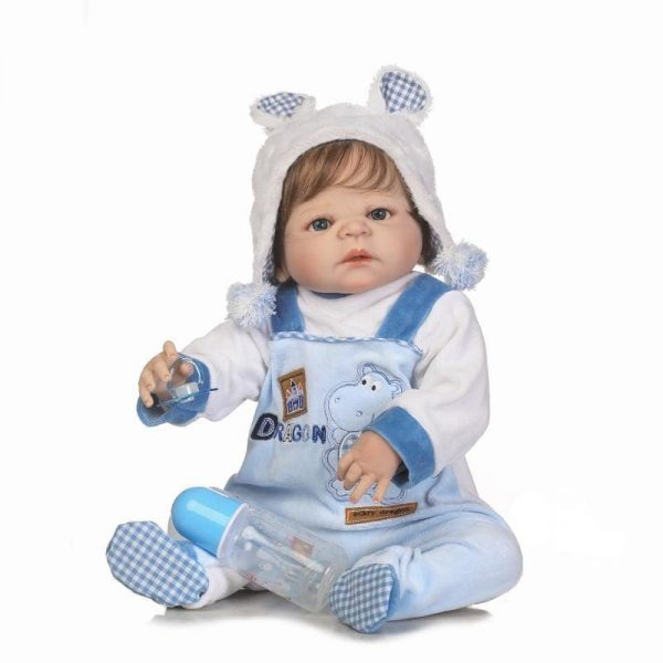 bébé reborn garçon en silicone