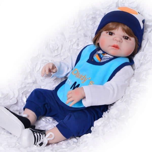 bébé reborn garçon pas cher