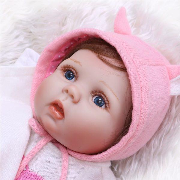 vrai bébé reborn en silicone