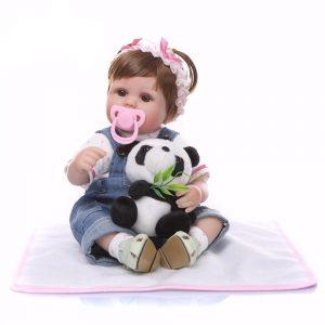 poupée reborn pas cher avec sucette aimantée