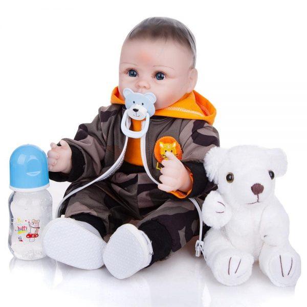 bébé reborn poupée avec accessoires