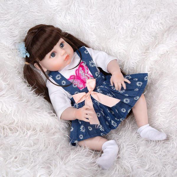 poupée reborn en silicone pas cher