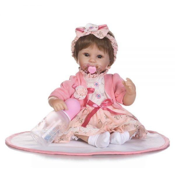 poupée bébé reborn avec sucette aimantée