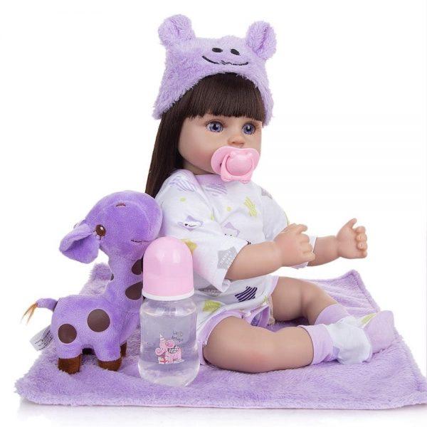 poupée fille reborn avec accessoires