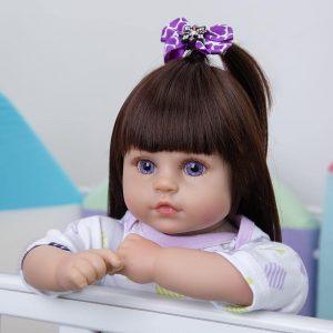 poupée fille reborn roxane