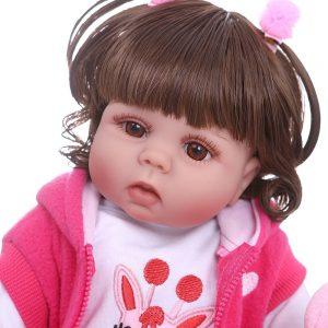 poupée reborn fille face