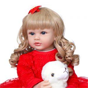 poupée reborn jumelles laura de face