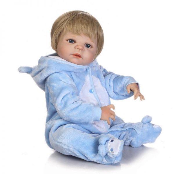 bébé reborn en vinyle de coté