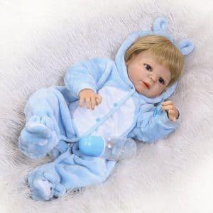 bébé reborn en vinyle de silicone