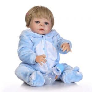 bébé reborn en vinyle réaliste