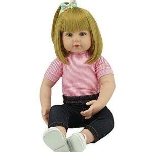 bébé reborn fille 50 cm réaliste