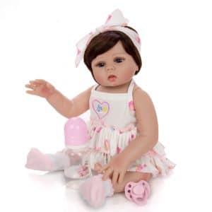 bébé reborn silicone fille pas cher
