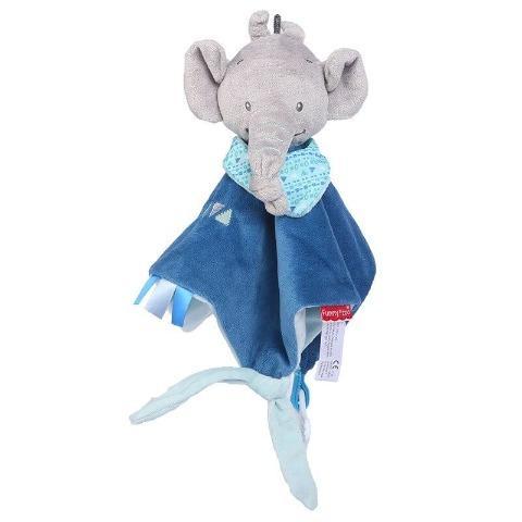 doudou éléphant pour poupée reborn