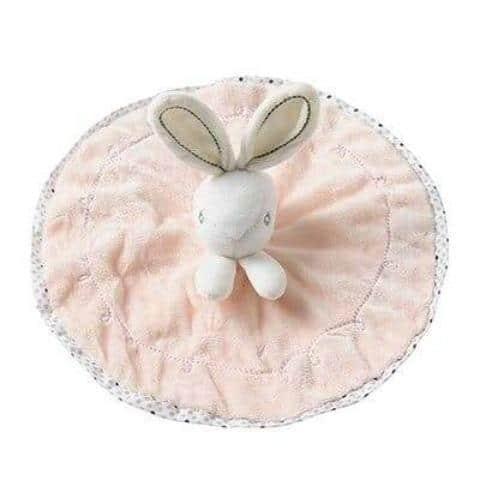 doudou lapin rose bébé reborn fille