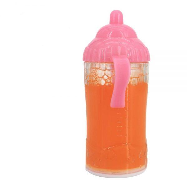 biberon orange bébé reborn