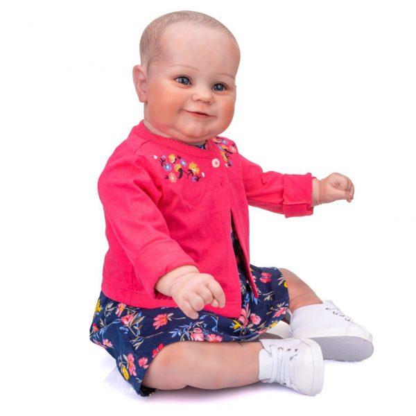 grand bébé reborn fille de coté