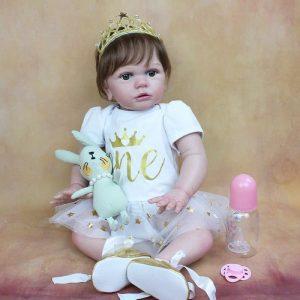 bébé reborn fille réaliste