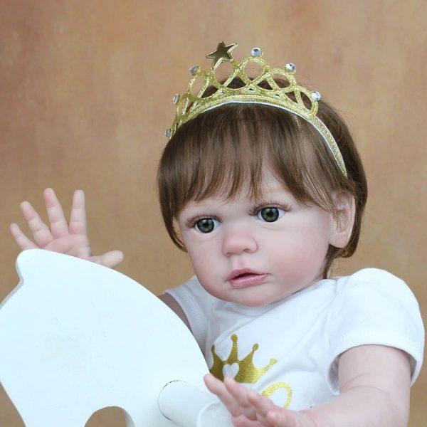bébé reborn fille très réaliste